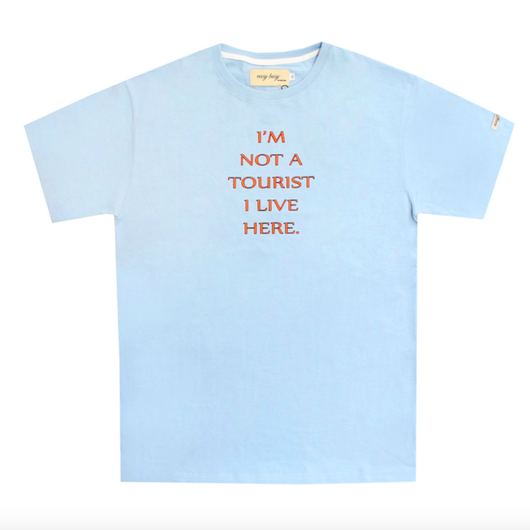 Tourist T-Shirts – Sky Blue