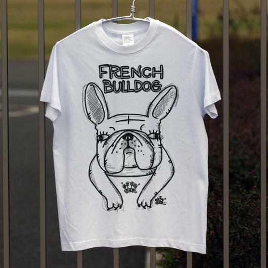 フレンチブルドッグ ライトオンスTシャツ