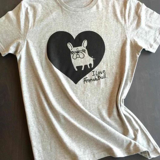 HART  IN  フレンチブルドッグTシャツ しっかりタイプ