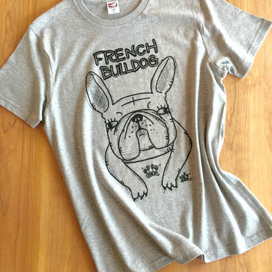 フレンチブルドッグTシャツ しっかりタイプ
