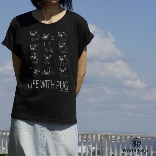 パグヲの日常レデイースTシャツ
