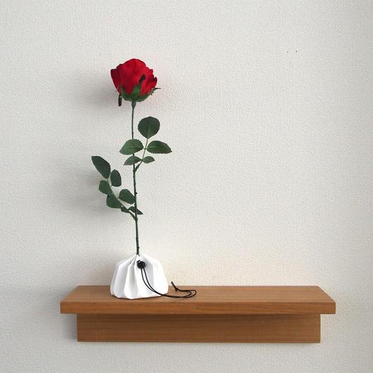 ORIGAMI vase - White