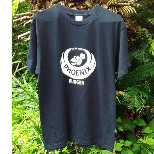 フェニックスバーガー Tシャツ《Mサイズ》ネイビーのみ