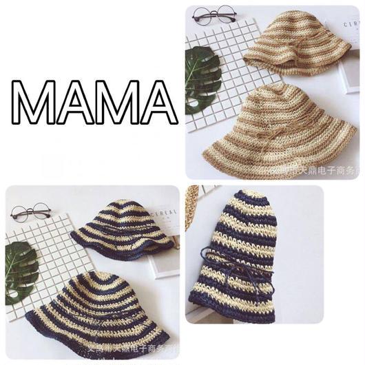 むぎわら帽子【MAMA】