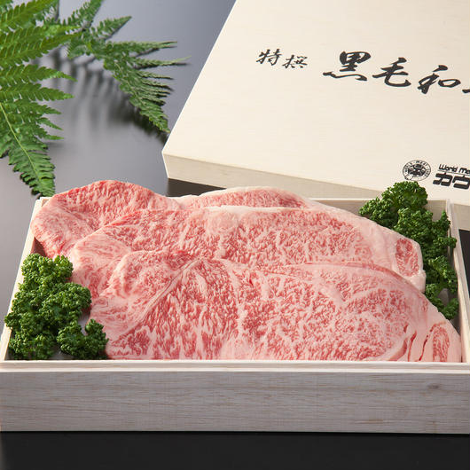 長崎和牛ロースステーキ(180g☓2枚)