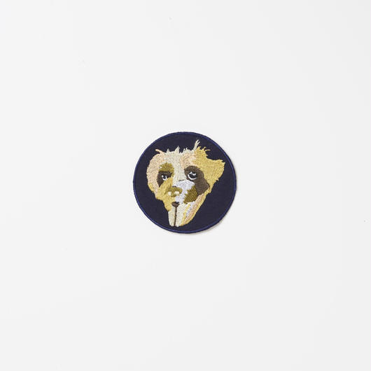 Embroidery Badge Schnauzer               刺繍ワッペン シュナウザー