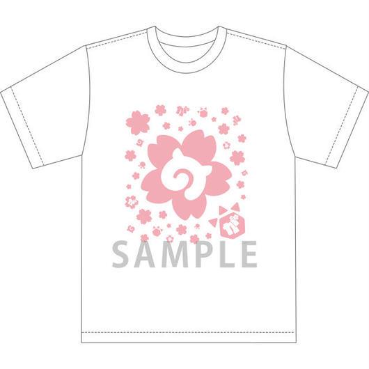 【がーでん 花見(第一弾)】Tシャツ さくら