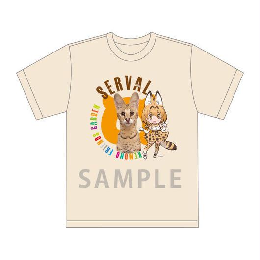 【が~で~ん】幕張に来てくれた原作たちのモデルTシャツ サーバル