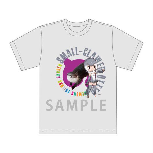 【が~で~ん】幕張に来てくれた原作たちのモデルTシャツ コツメカワウソ