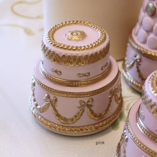 VILLARI リボンガーランド  ケーキ型ボックス A