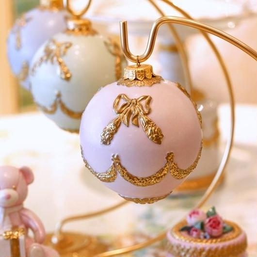 VILLARI リボンガーランド・クリスマスオーナメント