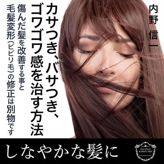 しなやか髪の創り方