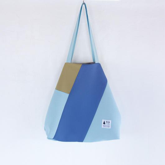 flag bag(サンド・ペールブルー)