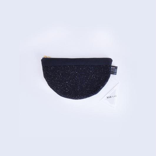 wool pouch(ブラック)