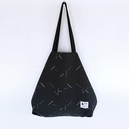 flag bag / lane(ブラック)