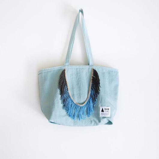 hairy bag(ミントグレー)