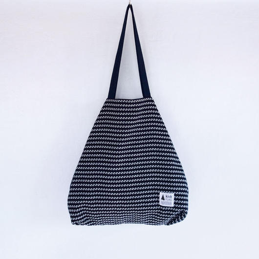 flag bag  /  tweed(ネイビー)