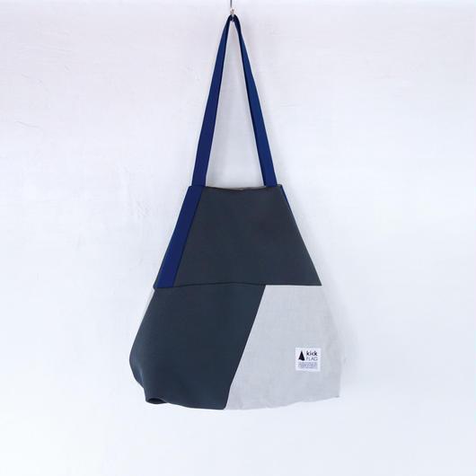 flag bag(ダークグレー・ペールグレー)