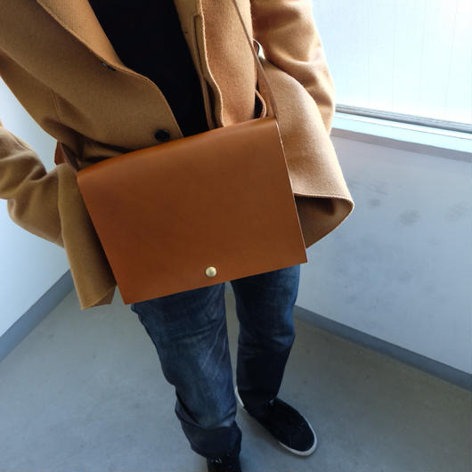 Boxstiched shoulder bag
