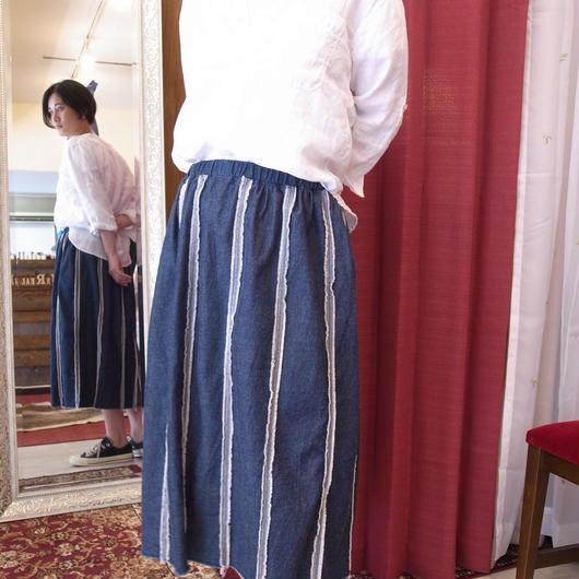 【 UN REAL 】Denim easy skirt