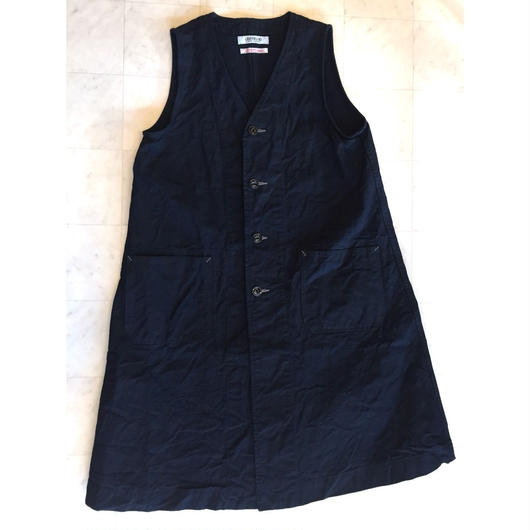 【 OMNIGOD 】Sleeveless Dress Coat