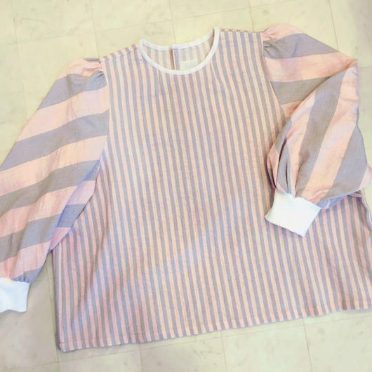 【 POTTENBURN TOHKI 】STRIPE SHIMAI TOP
