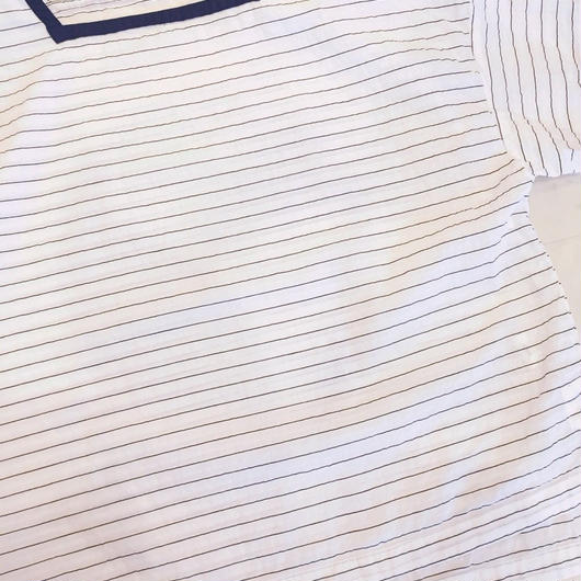【 OMNIGOD 】Sailor wide shirt
