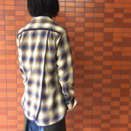 【 REROS 】Check Shirts