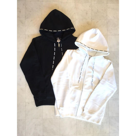 【 KIXSIX 】LOGO REPEAT ZIP UP