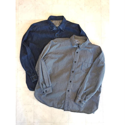 【 OMNIGOD 】Wide work shirts