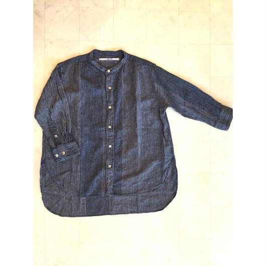 【 OMNIGOD 】Stand collar blouse