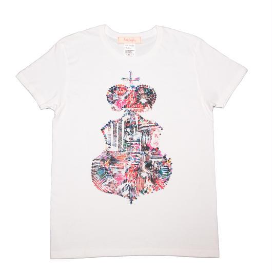 エンブレムコラージュTシャツ