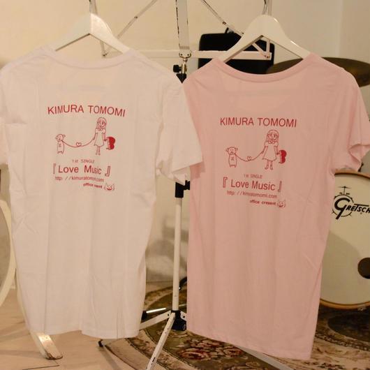 木村友美デザイン 1stシングル発売記念オリジナルTシャツ