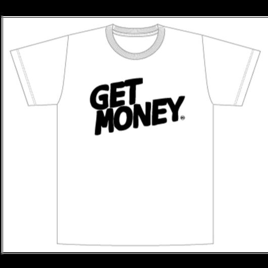 GET MONEY T(ホワイト/LadiesL&MensXL)