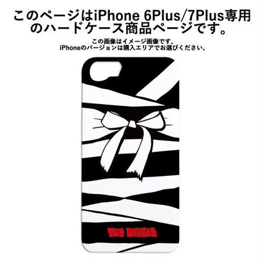 『黒ミイラ・リボン柄』ハードケース(iPhone6Plus/iPhone7Plus専用)