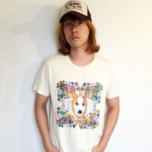 #1『D.O.G. is G.O.D』Tシャツ(ナチュラル/4サイズ)