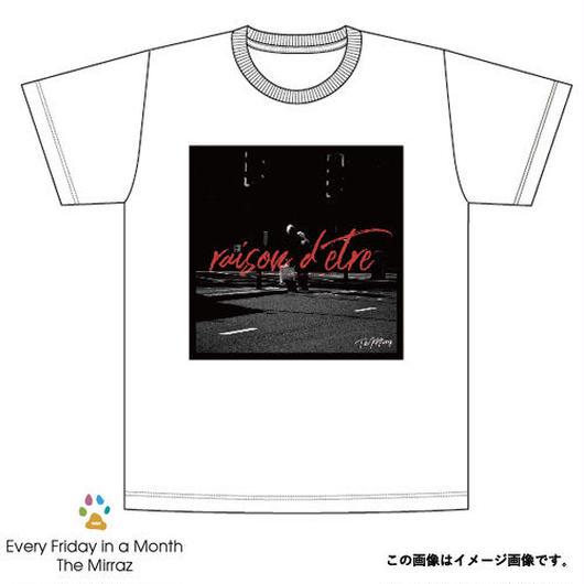 #2『レゾンデートルの存在理由』 Tシャツ(ホワイト/4サイズ)