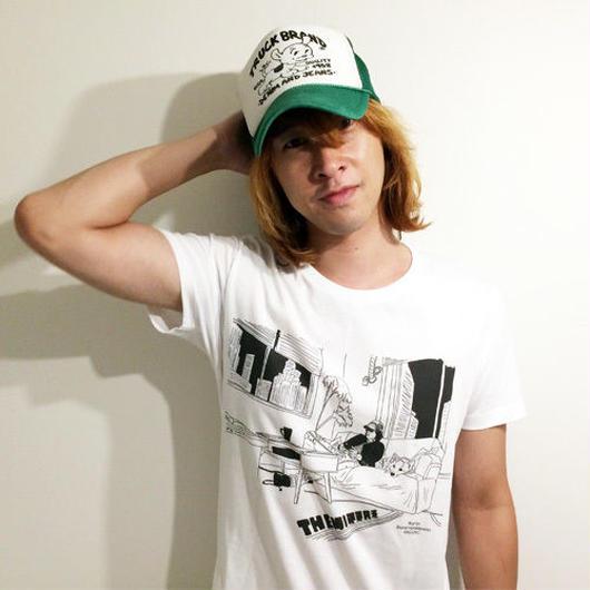 #3『Ningenno Switch』  Tシャツ(ホワイト/4サイズ)