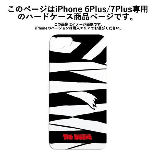『黒ミイラ柄』ハードケース(iPhone6Plus/iPhone7Plus専用)