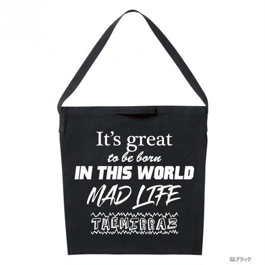 MAD LIFE BAG(サコッシュ/ブラック)
