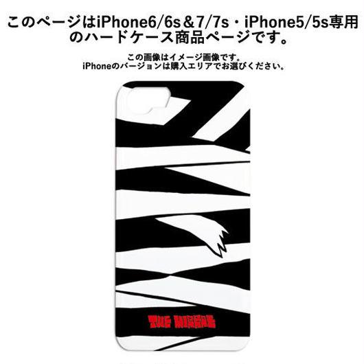 『黒ミイラ柄』ハードケース(iPhone6/6s&7/7s・iPhone5/5s専用)