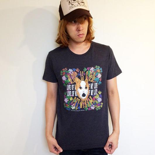 #1『D.O.G. is G.O.D』Tシャツ(ダークネイビー/XL) キャンセル分