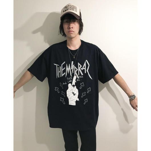 METALロゴTシャツ(ブラック/4サイズ)
