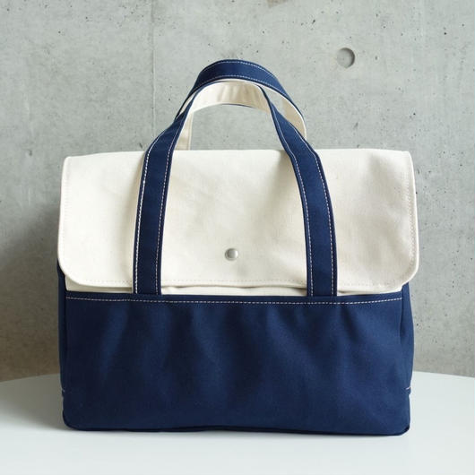 MigratoryBag 【M】Natural×Navy