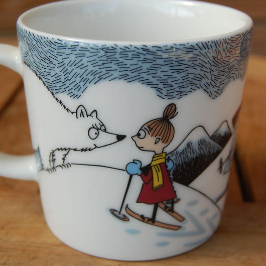 ARABIA【Moomin Winter 2014 mug】