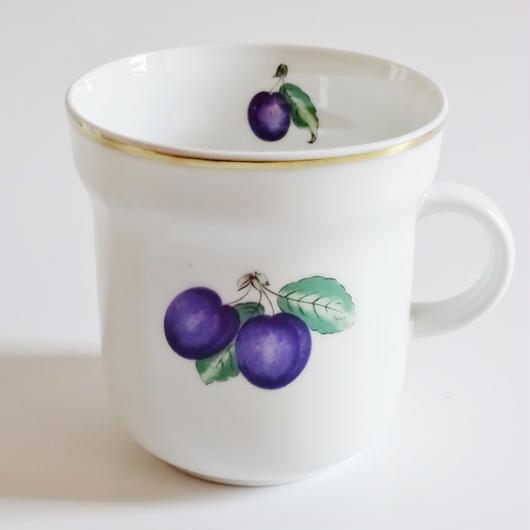 リチャードジノリ ボンジョルノプルーン マグカップ