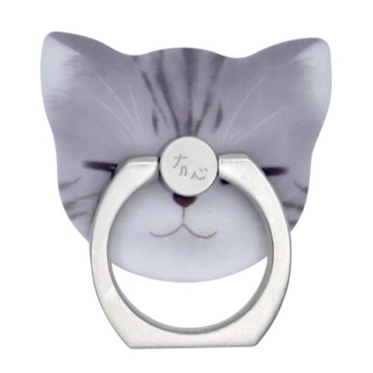 猫型 ホールド リング  10.Dubian(サバトラ)