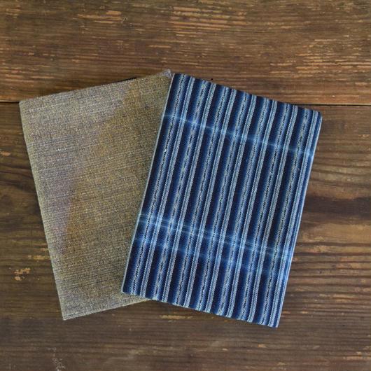 ブックカバー 手紡ぎ 小 / 工房ゆみはま G030