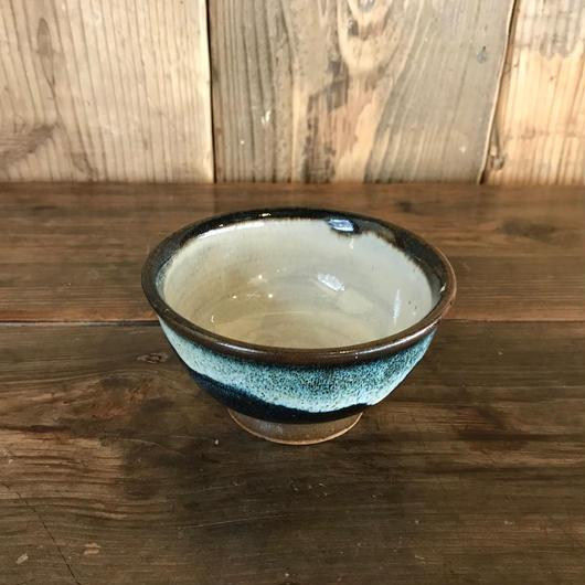 飯碗 青 / 湯町窯 A202