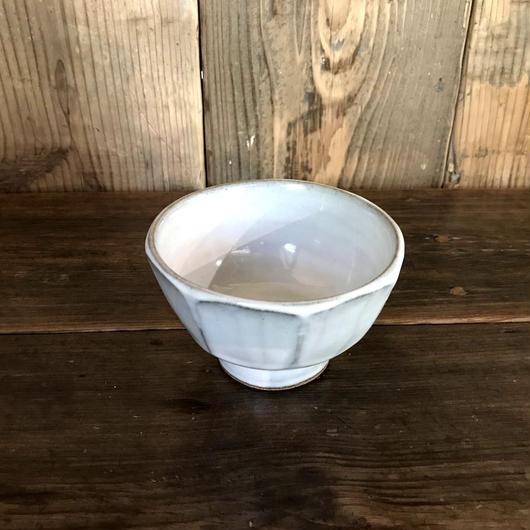 白釉 面取碗 / 延興寺窯 E202